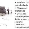 ugaone garniture- -30% ALEKSANDROVAC KRUSEVAC